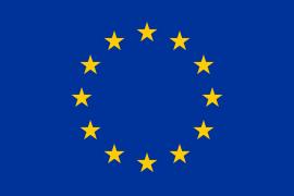 Flagge Europas und der Europäischen Union